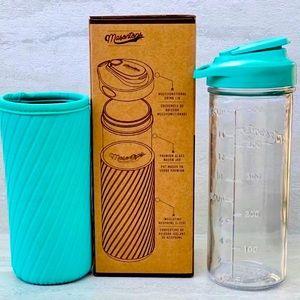 🌈2/$30 NIB Masontops Water Bottle/Neoprene Sleeve